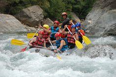 Rafting on Ubaye