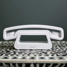 Funky landline phone by Graham and Green, Britain.