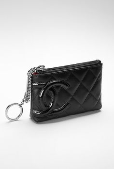 chanel key pouch. chanel key holder pouch d