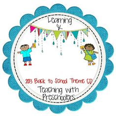 Learning and Teaching With Preschoolers: Back to School Theme CD