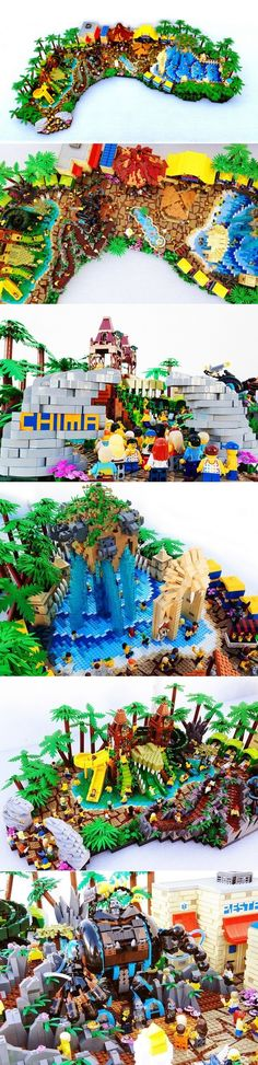 LEGO Legends of Chima Water Park by Joel Baker