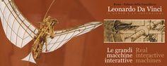 #Leonardo Da #Vinci - #Palazzo della #Cancelleria, #Roma. Il genio e le invenzioni. L'esposizione presenta 49 macchine, in parte interattive e funzionanti, accompagnate da pannelli descrittivi e materiale informativo, tradotto in 5 lingue, con la riproduzione del disegno originale di Leonardo.