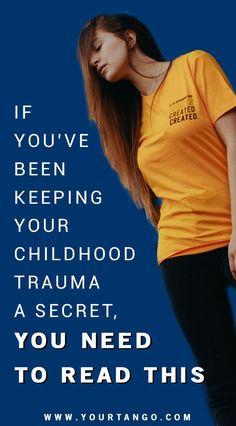 Childhood trauma can be hurting your mental health, especially if you've been keeping it a secret. Here's how to talk about it so you can heal. Emotional Child, Emotional Abuse, Emotional Awareness, Mental Health Awareness, Truth Hurts, It Hurts, Toxic Family Members, Trauma Quotes, Mental Health Matters