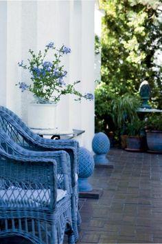 luxe outdoor space.