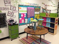 great classroom set up