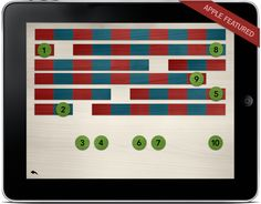 Introduction to Math: Montessori Style for toddlers. My two and three year old girls love this app for the iPad.