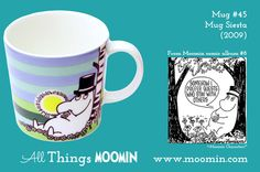 Moomin mug Siesta by Arabia - Moomin Moomin Mugs, Finland, Original Artwork, Tableware, Trays, Den, History, Collection, Dinnerware