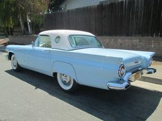 1957 Ford Thunderbird - Image 1 of 25 Old Vintage Cars, Antique Cars, Automobile, Cars Usa, American Classic Cars, Old Fords, Classic Motors, Ford Thunderbird, Car Ford