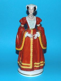 Figurine ornament Henry VIII queen 'Anne of Cleeves' Anne Of Cleves, Tudor History, Henry Viii, Queen Anne, Ornament, House, Decoration, Home, Homes