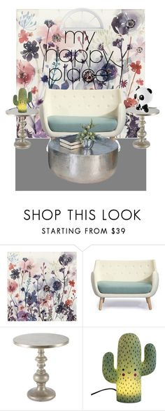 """""""Untitled #59"""" by kywy059 ❤ liked on Polyvore featuring interior, interiors, interior design, home, home decor, interior decorating, PBteen, Parlor and Hooker Furniture"""