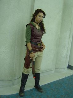 Zoe from Firefly.  Looks pretty darn good.  The hair is dead on and the vest.