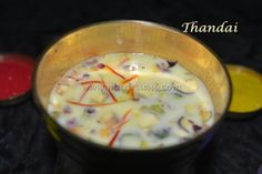 Thandai Recipe by Madraasi Deepa on Plattershare