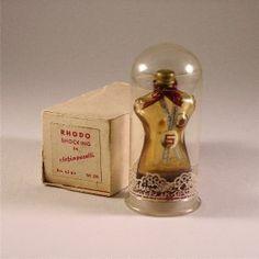 c.1936 Schiaparelli Shocking Mini Perfume. Estimate: $300 – $350