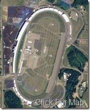 Michigan International Speedway Aerial Photo