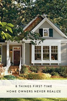 8 Things First-Time Homeowners Never Realize