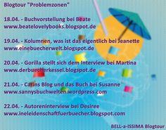 Eine Bücherwelt: Blogtour Problemzonen