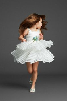 Dolce kids.  Fun flower girl dress.