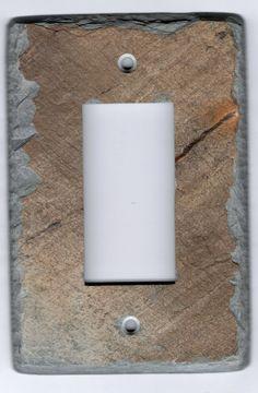 62 best decorative slate switch plates images plates on wall rh pinterest com