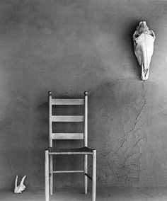 "Todd Webb, On the Portal, O""Keeffe's Ghost Ranch House, New Mexico, 1959"