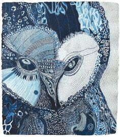 Owl of the Colo Moon-Joshua Yeldham Owl Illustration, Illustrations, Owl Art, Bird Art, Paper Owls, Street Gallery, Colorful Paintings, Bird Paintings, Sketchbook Inspiration