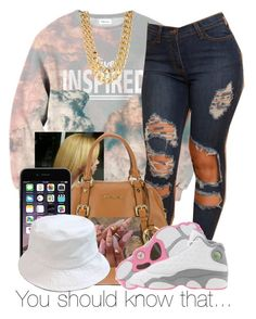 """""""."""" by para-diceee ❤ liked on Polyvore featuring xO Design, MICHAEL Michael Kors and Retrò"""