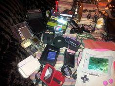 My handhelds from Nintendo
