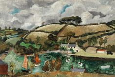 Christopher Wood Pill Creek, Feock, Cornwall, 1928