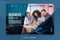Teamwork business landing page Free Vect. Brochure Design, Flyer Design, Page Design, Web Design, Instructional Technology, Social Media Design, Logo Design Inspiration, Teamwork, Banner Design