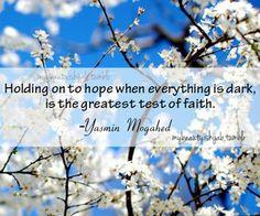 Have the faith...