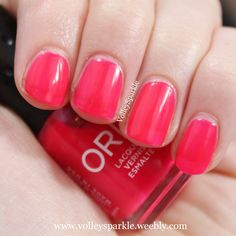 Orly Passion Fruit Nail Lacquer | Review & Swatches