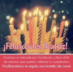 ¡Felicidades Beatriz! #YouBarcelona