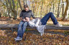 Séance famille grossesse, photo extérieure, Forêt de Fontainebleau