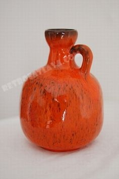 Ruscha handled vase 333