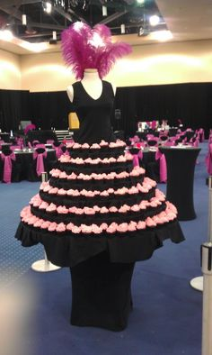 Cupcake dress for Little Black Dress Party