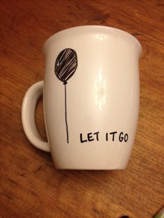 Sharpie on cheap mugs...great and cheap gifts!