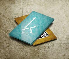 Cartão de visita - Kallvner Designer