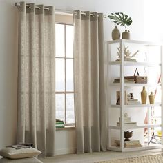 home decor with curtains