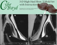 CybrTrayd 3D High Heel Shoe Chocolate Mold Kit >>> Want to know more, click on the image.(This is an Amazon affiliate link and I receive a commission for the sales) #CandyMakingAccessories