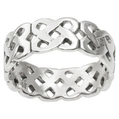 Women's Tressa Collection Braided Band in Sterling Silver $13.80