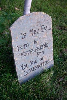 funny gravestone sayings halloween tombstone quotes - Funny Halloween Tombstones