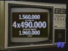 Intervalo Rede Globo Março 1985 (3/4)
