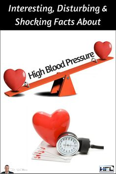 Interesting, Disturbing & Shocking Facts About High Blood Pressure  The below info-graphic reveals some interesting, disturbing and shocking facts about high blood pressure and how it affects your health. Take a quick look and then read my short summary at the end…  #HeartHealth #BloodPressure