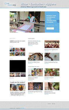 Water.org - Website Development