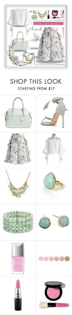 """chicwish.com"" by jecakns ❤ liked on Polyvore featuring Kate Spade, Alexandre Birman, Chicwish, Feather & Stone, Lonna & Lilly, Cole Haan, Christian Dior, Deborah Lippmann, MAC Cosmetics and Bobbi Brown Cosmetics"