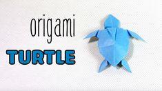Como hacer una tortuga de papel | Tortuga de Origami | fácil de Origami