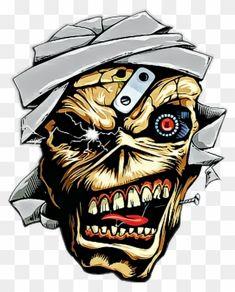 Rock Y Metal, Nu Metal, Iron Maiden Posters, Iron Maiden Albums, Eddie The Head, Classic Rock Albums, Simpsons Drawings, Iron Maiden Shirt, Joker Comic