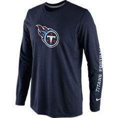 28941d03 Sideline Nike Dri-Fit Legend Conference Titans T-Shirt. Women's Athletic  Shoes