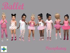 Sims 4 CC's - The Best: Set for toddler girls by persephaney