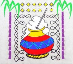 office decor for pongal. pongal rangoli collection2 office decor for