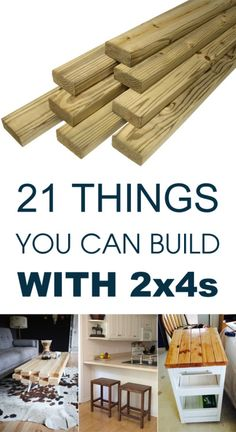21 Things You Can Build With 2x4s. Outdoor sofa, kids bench, stools.